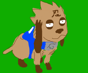 some anime dog i dont know