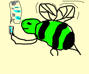 Green Bee texting