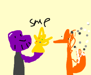 Thanos kills a fox