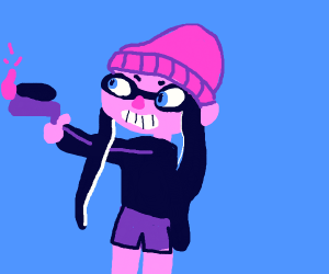 YOU'RE A KID NOW, YOU'RE A SQUID NOW!