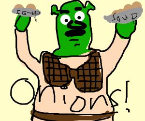 Onion Soup With Shrek