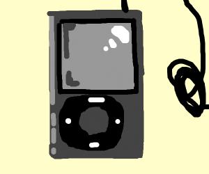 Resting ipod