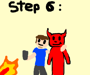 Step 5: Go to hell