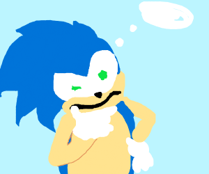 Sonic kan't remberber