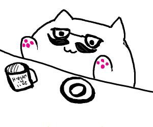 Hipster Bongo Cat