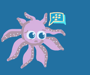 Graffiti Octopus checks BBM