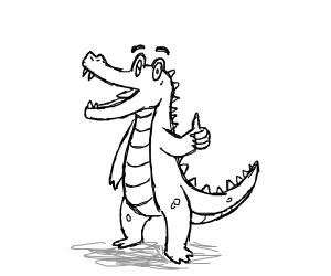 Crocodile approves