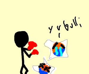 beating up tide pods