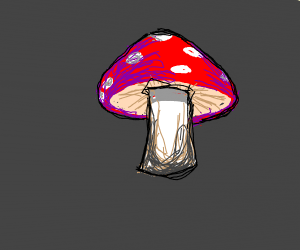 balding mushroom