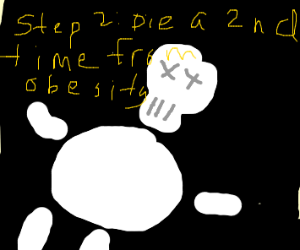 Step 1: Become a Fat skeleton.