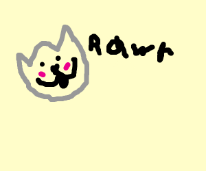 RAWR as cute as possible