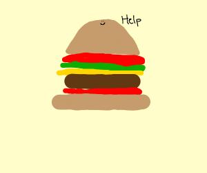 Happy Hamburger