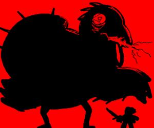 Murderous turkey on a killing spree