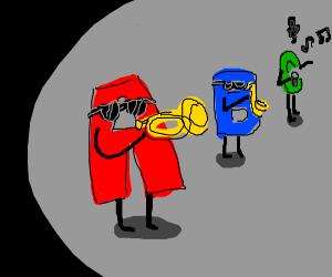 WHY DO I HEAR BOSS MUSIC - Drawception