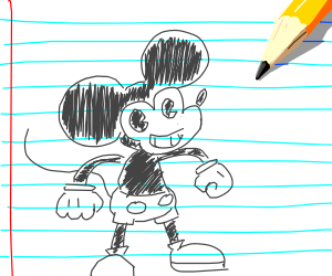 Doodle Mickey Mouse