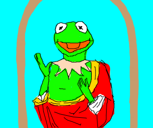kermit is jesus christ himself