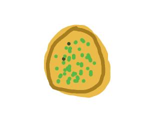 Bowl of mushy peas