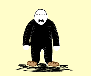 Wearing a suit with Bread shoes