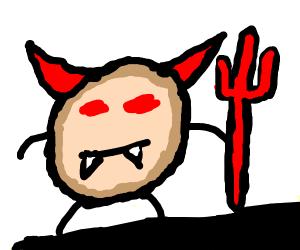 devil pancake monster