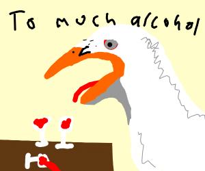 Drunk Seagull