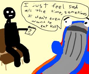 Whale is dead inside