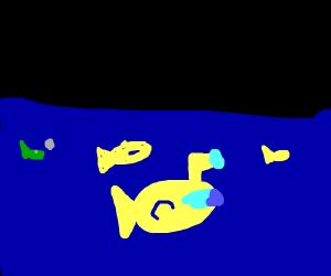 Sinking Submarine