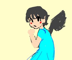 Kawaii Anime Batgirl