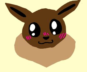 Blushing Eevee