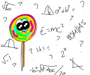 Lollipop does math