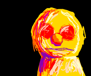 yellmo w/ red eyes