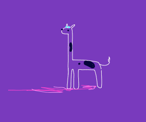 Purple giraffes