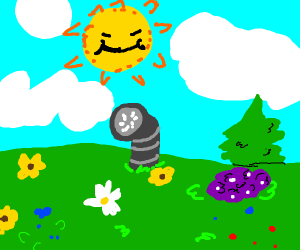 Telly tubbies background