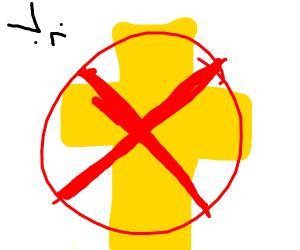 NO JESUS ALLOWED