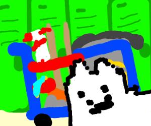 dog janitor