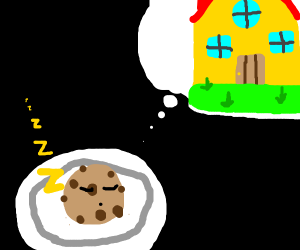 A cookie dreaming of a home