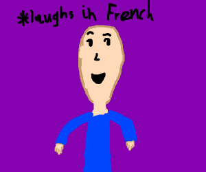 laughs in french