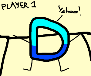 D is player 1
