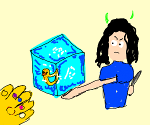 The tesseract had a drawception duck inside