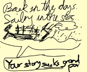 your story sucks grandpa