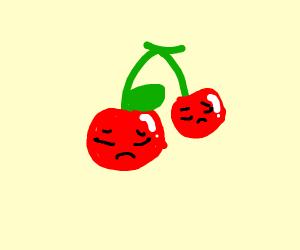sad cherry