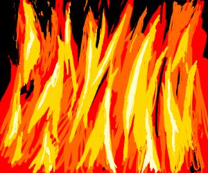 Fire (lots of)