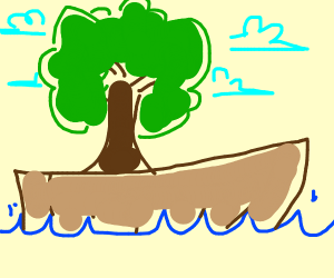 Tree on a Boat