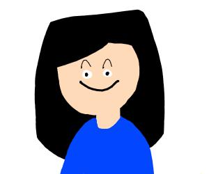 woman smiling :)