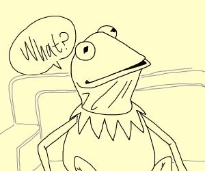 confused kermit