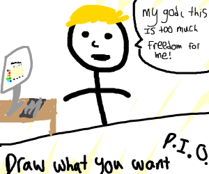 Draw what you want! (PIO)