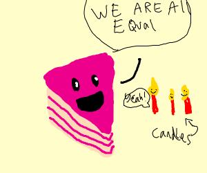 Equality cake!