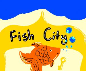 Mayor Fish has key to the city