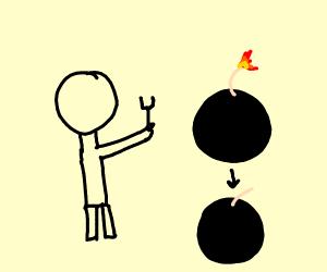 defusing a bomb