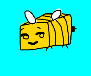 Thicc bee's in minecraft