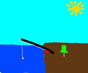 Fishing Pin